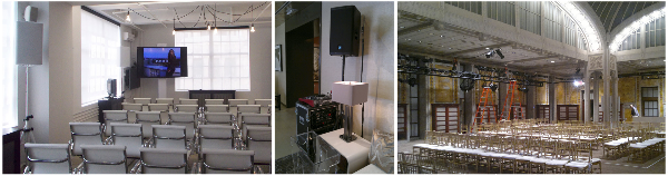 AV NYC offers HD camera rentals, HD projector rentals and complete HD video production among with computers rentals.