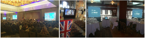 Rent large screen video monitors, LCD video wall, LED display panels, LED DJ booth, led stage lighting systems from AV NYC.